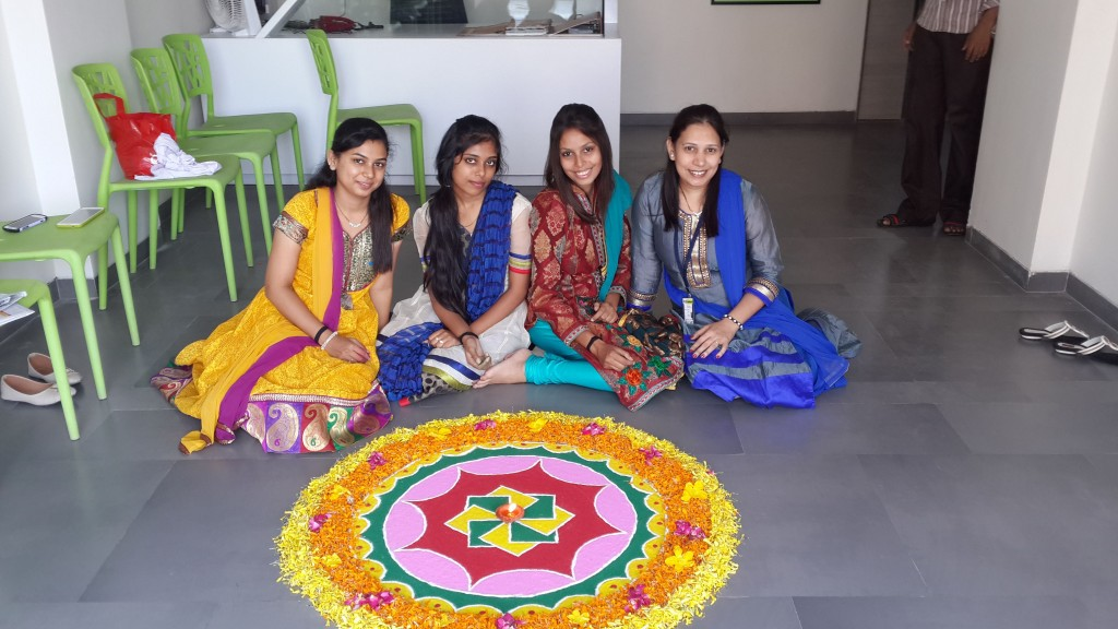 celebration of diwali 2014 at our office g3fashions