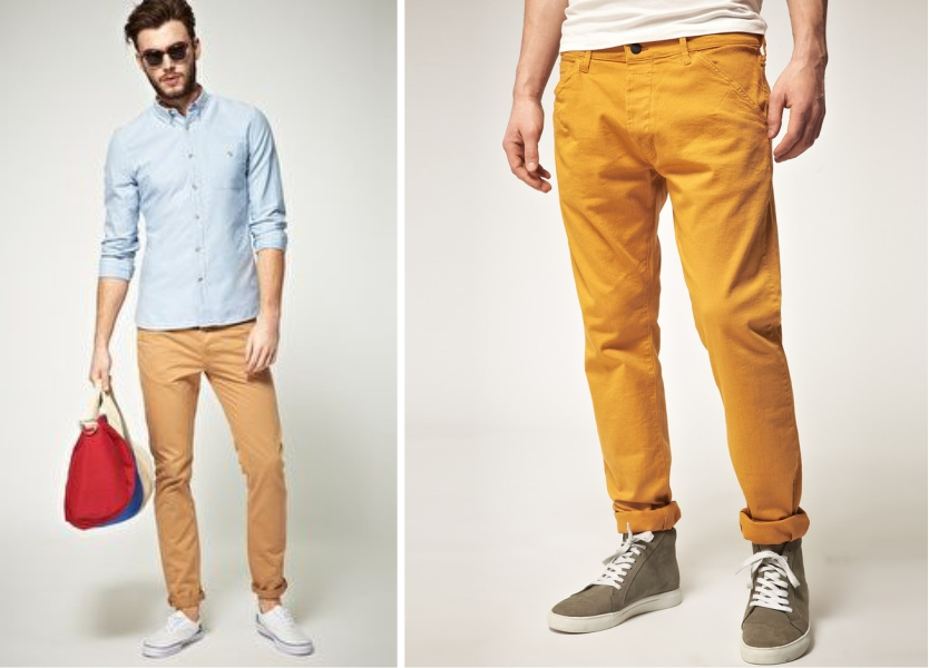 Men's Trousers – 5 Style tips to wear chinos with Casual Shirts ...