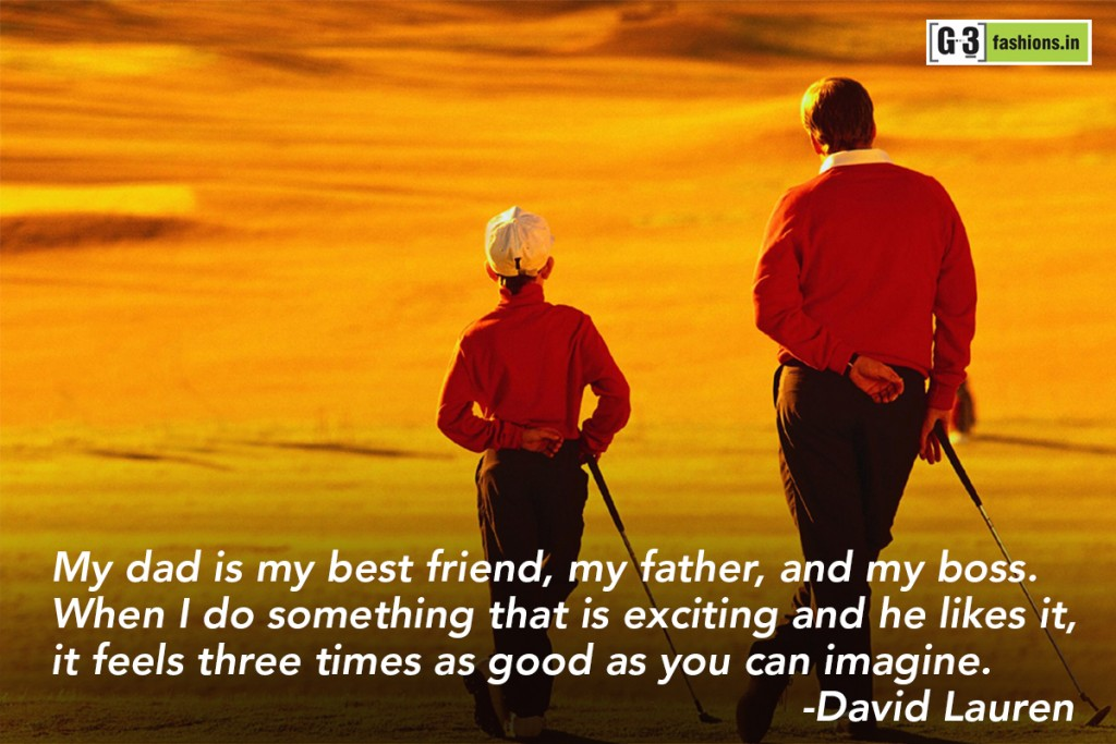 a special friendship with my father