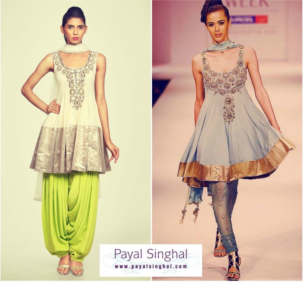 Anarkali Salwar Suits from History to Latest Fashion ...