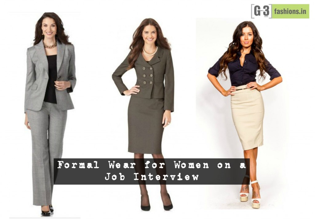 How to dress up for Job Interview – Women's Wear | | G3Fashion.com