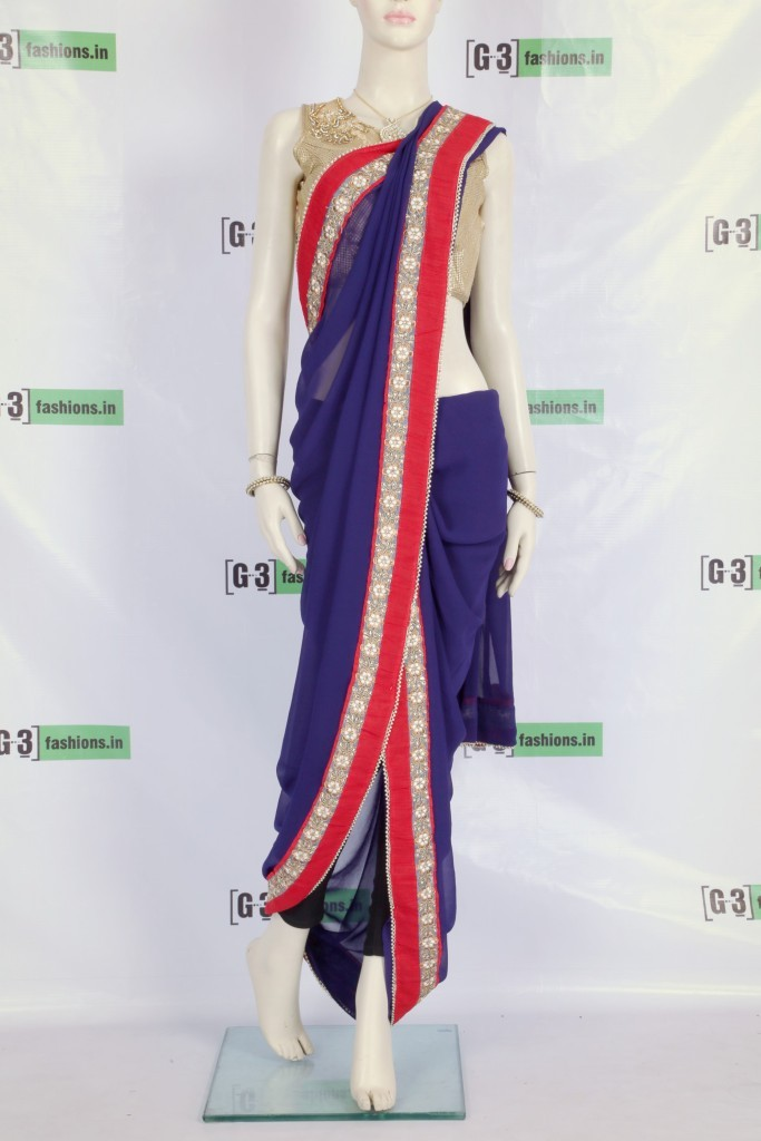 How To Drape Sonam Kapoor Half Dhoti Saree