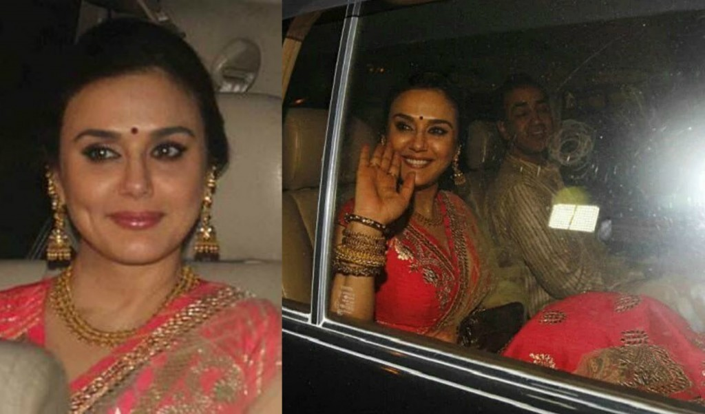 Preity Zinta And Gene Goodenough Bollywood Wedding Pictures