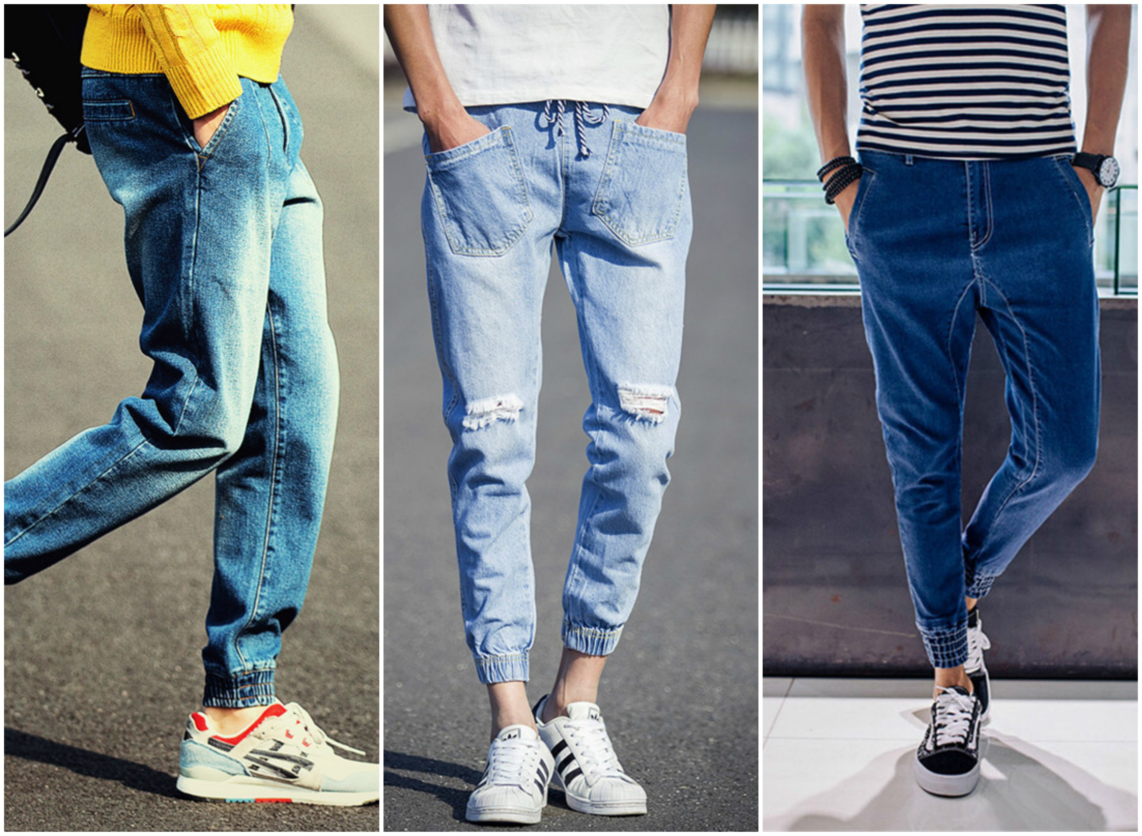 Mens Denim Joggers Top Styles For Men Casual