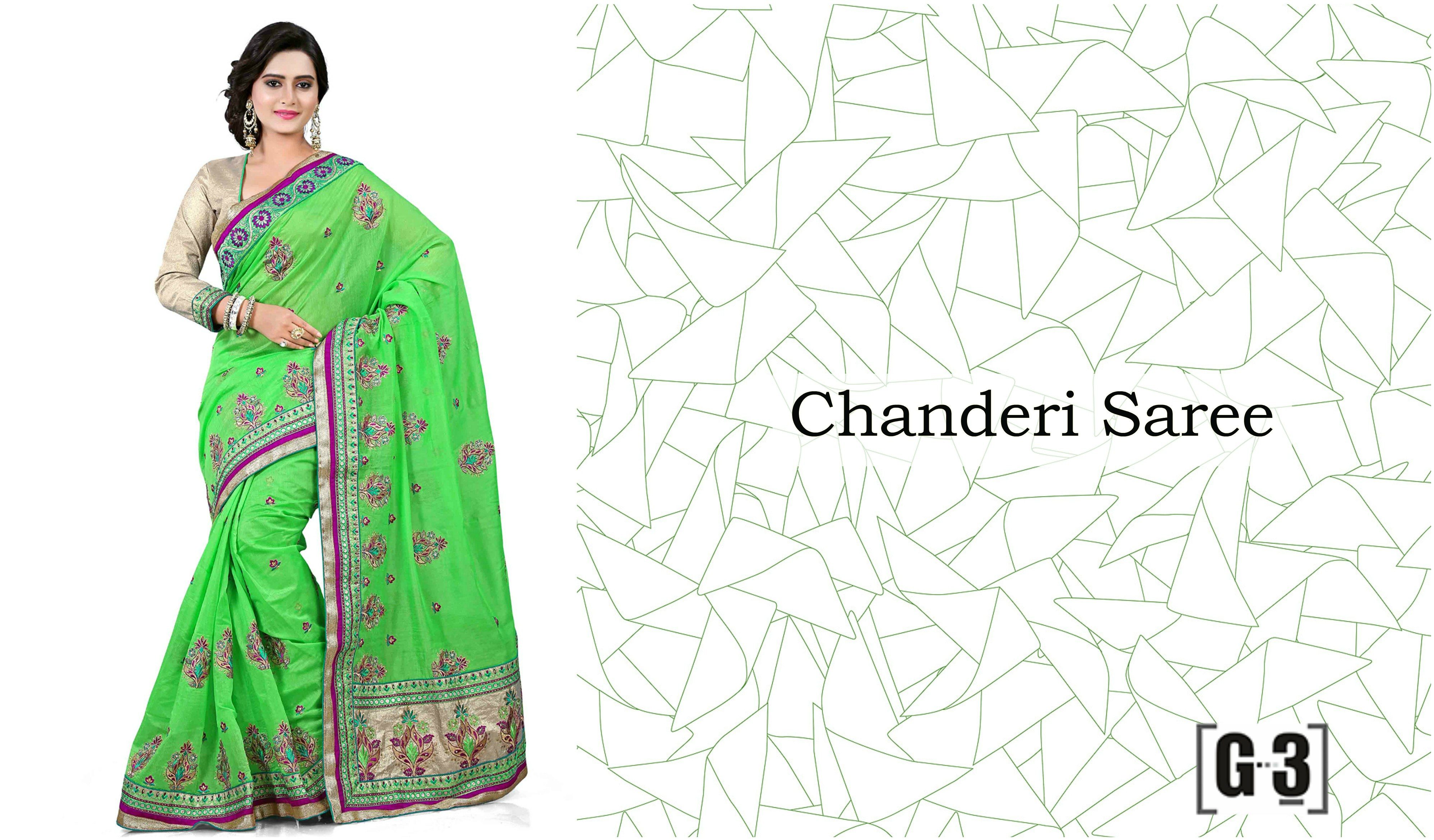 Chanderi Saree Sari Indian 15 Types Of Regional Sarees From
