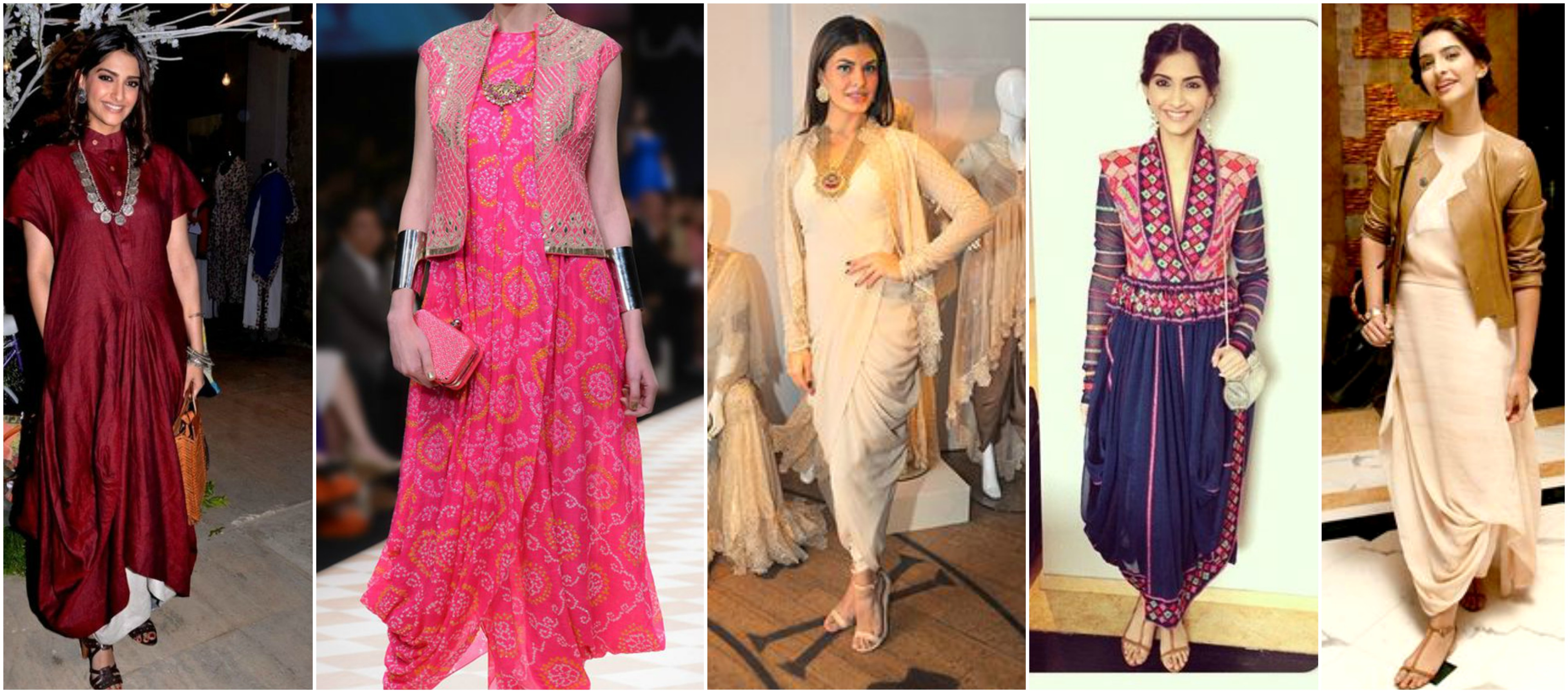 Celebrities Stylish Amp Desi Look In Designer Kurtis Amp Tunic