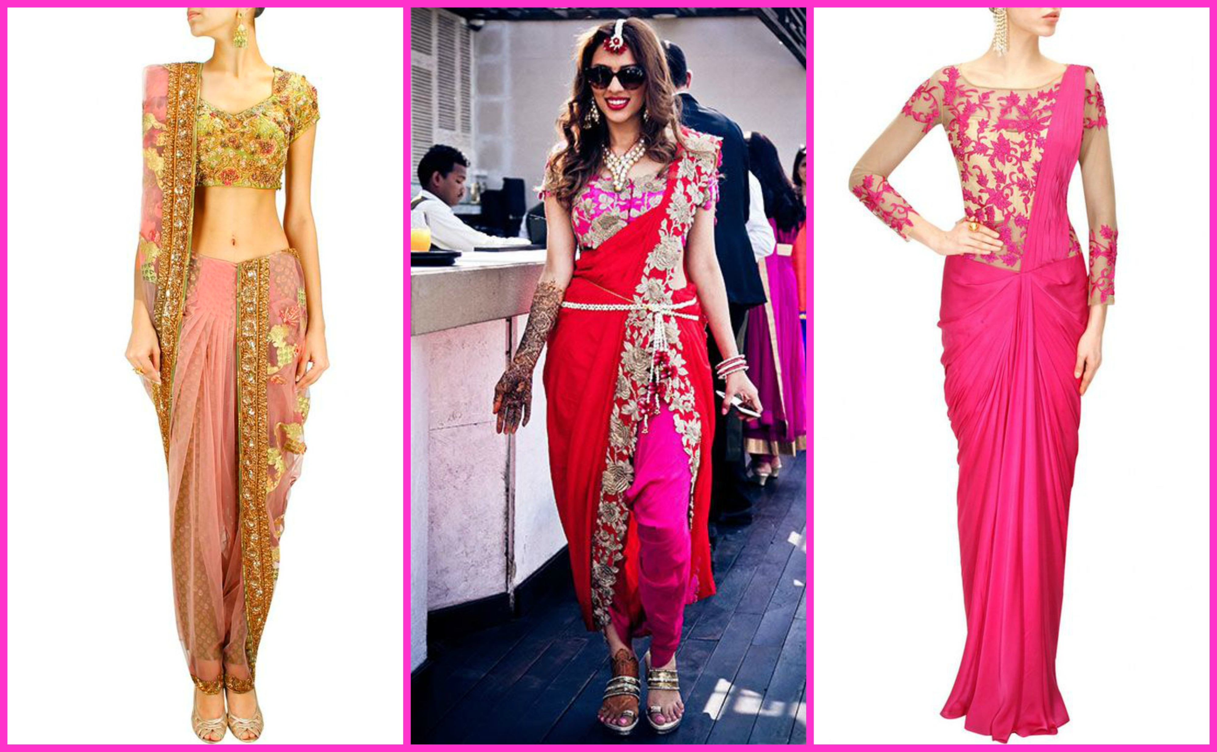 d9cdbee1674a2 Ladies Pink Clothes - Indian Wedding Wear Must Have — G3+ Fashion
