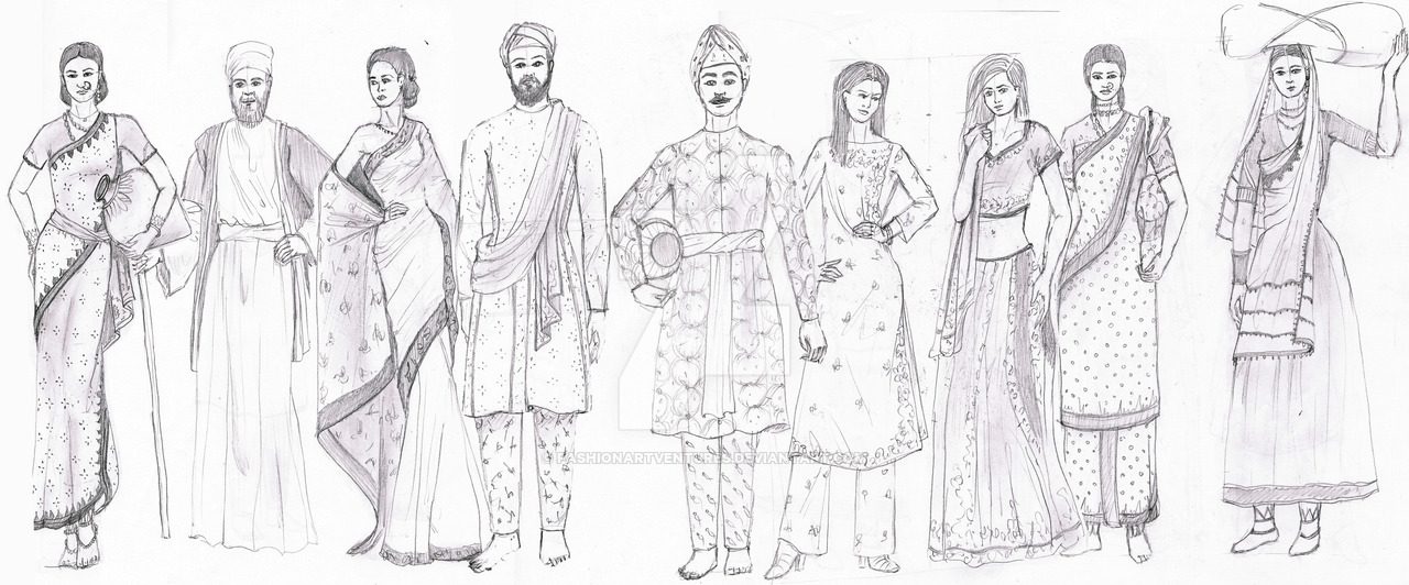 The Indian Ethnic Wear How Indian Fashion Exists As