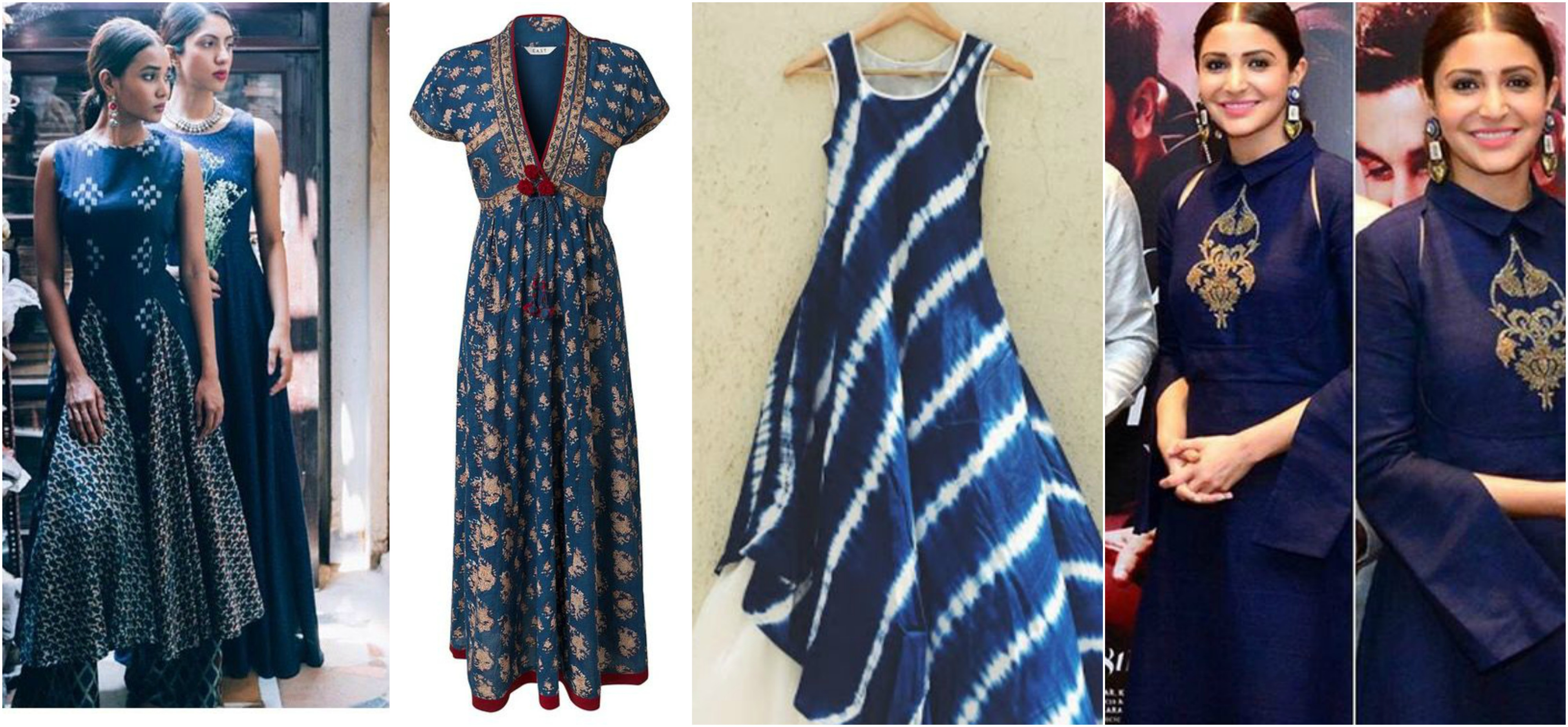 Wedding amp Festive Trend Alert Kurti Or Tunic In Blue