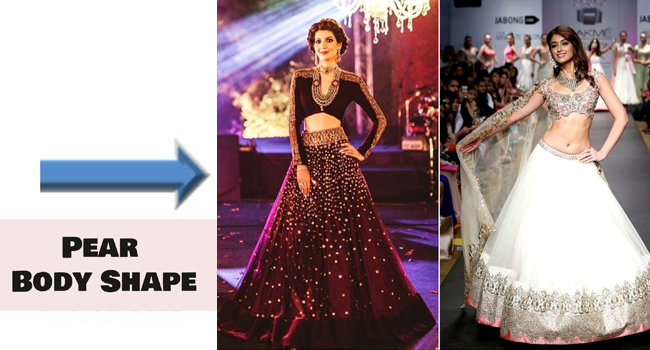 Lehenga Style And Body Shape- What To Choose And What To Avoid — G3+