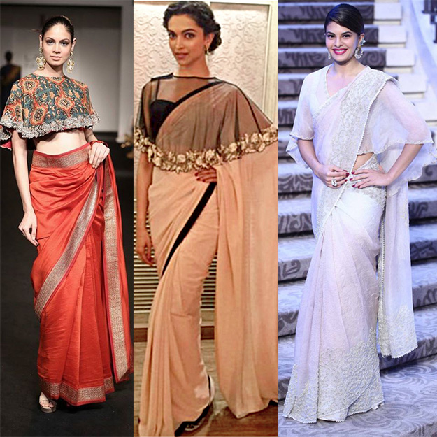 Some Western Blouses That Every Woman Must Try With Sarees