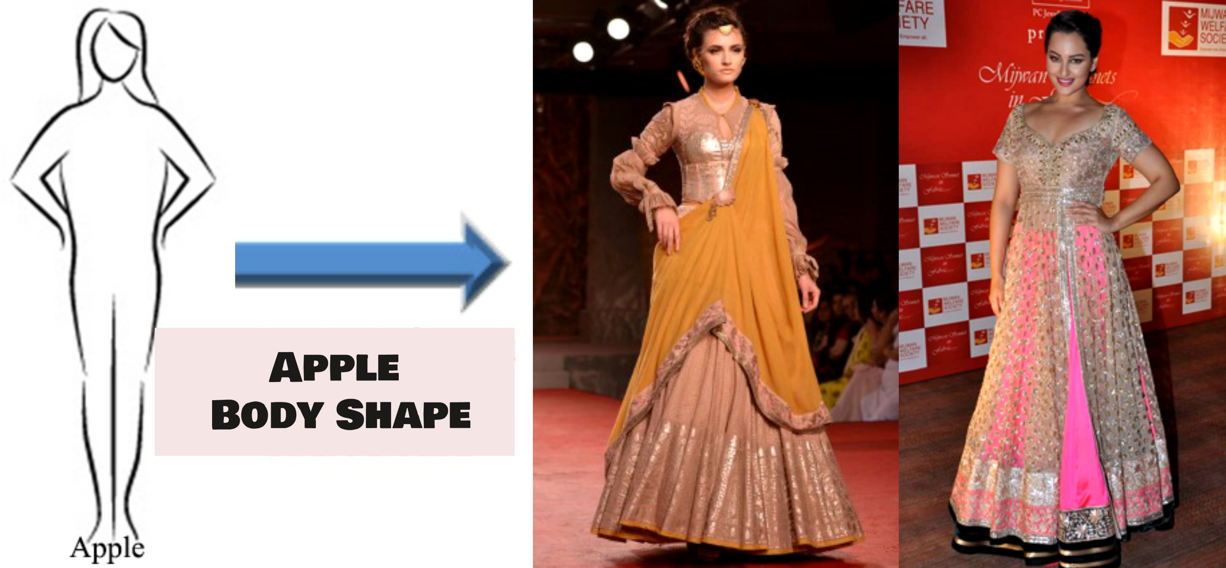 Lehenga Style And Body Shape- What To Choose And What To