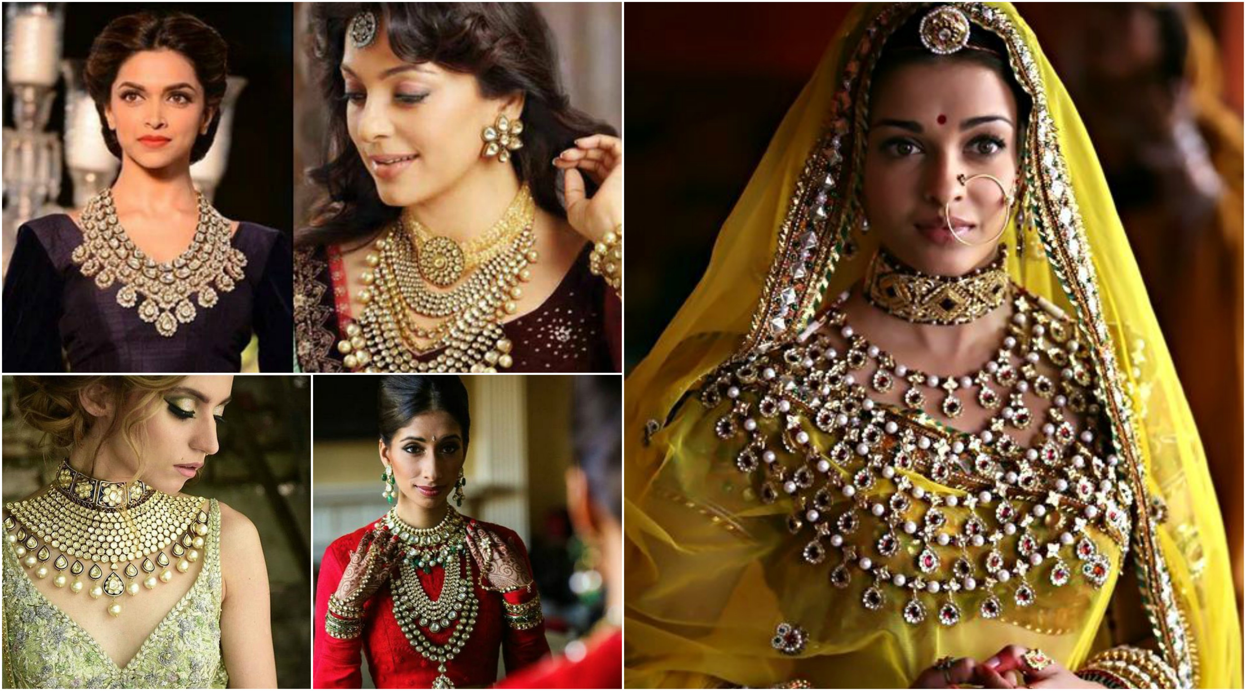 Indian Bridal Neckpieces
