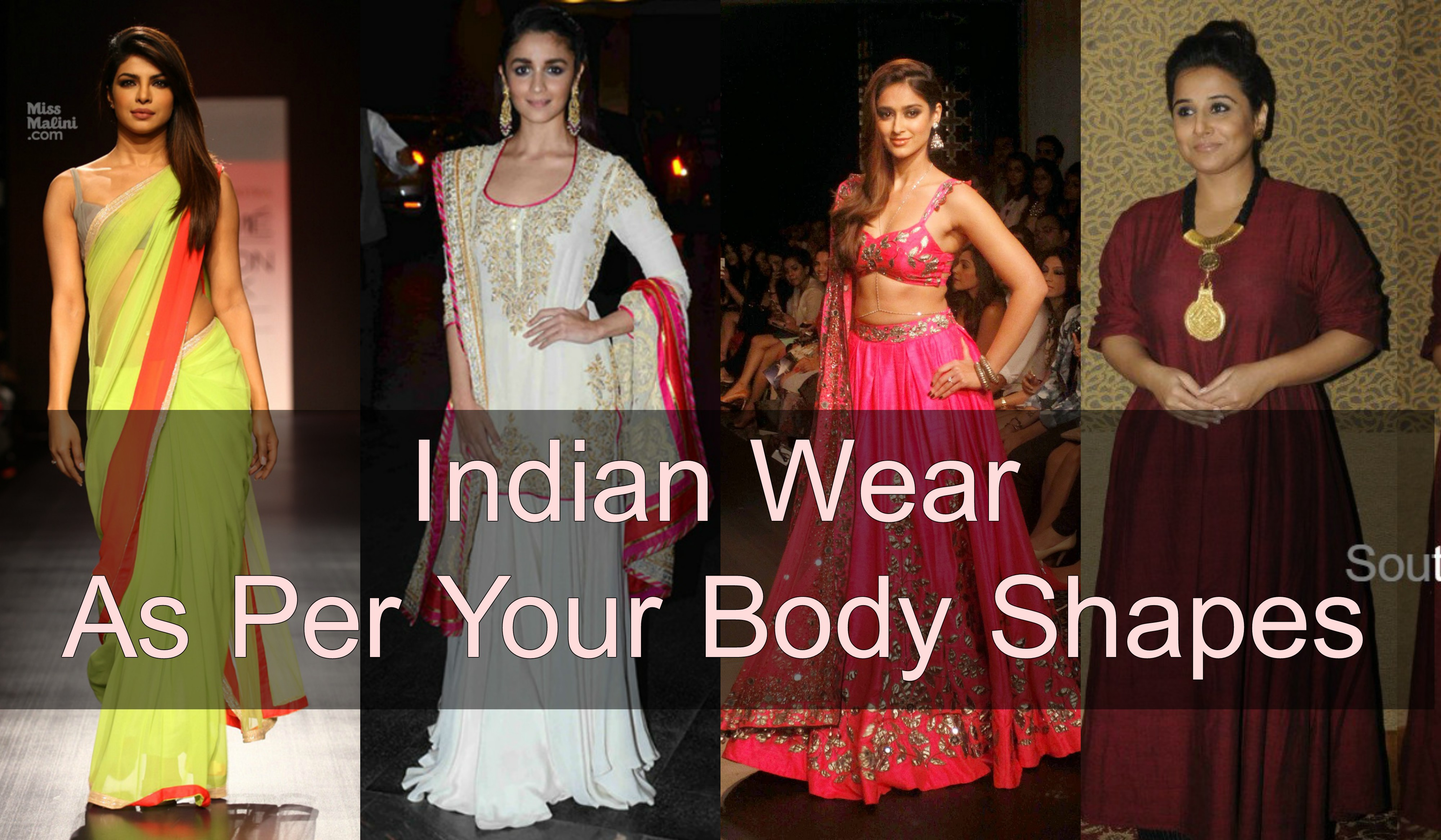 How To Dress As Per Your Body Shapes Indian Wear G3fashion