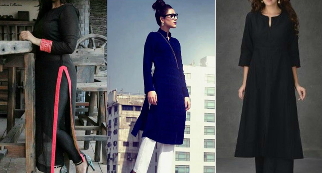 How to Wear a Plain Black Kurta in Different Ways — G3+ Fashion 54cdab807d