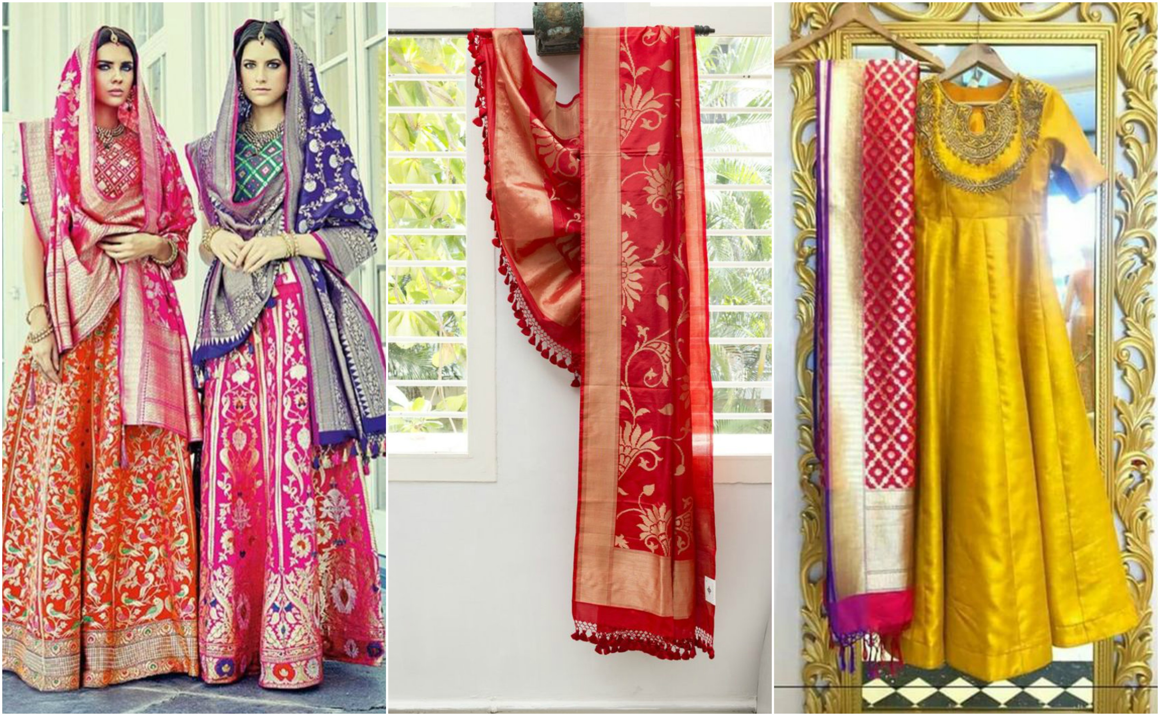 Different types of silk dupatta how to style silk Different fashion style categories