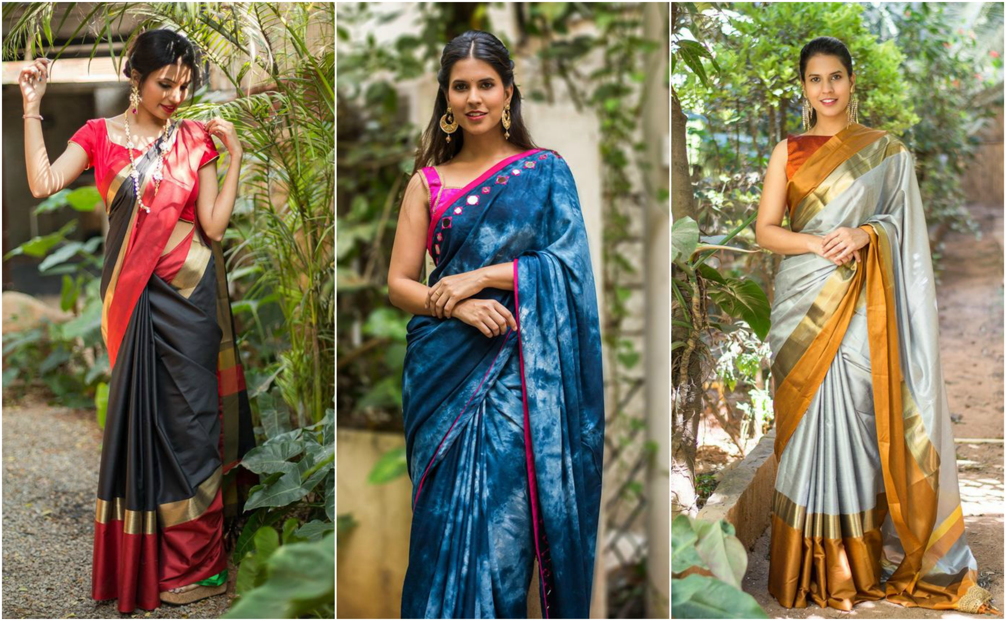 40a5e8f5fcd82 6 Latest Trends of Cotton Silk Sarees in 2018 — G3+ Fashion