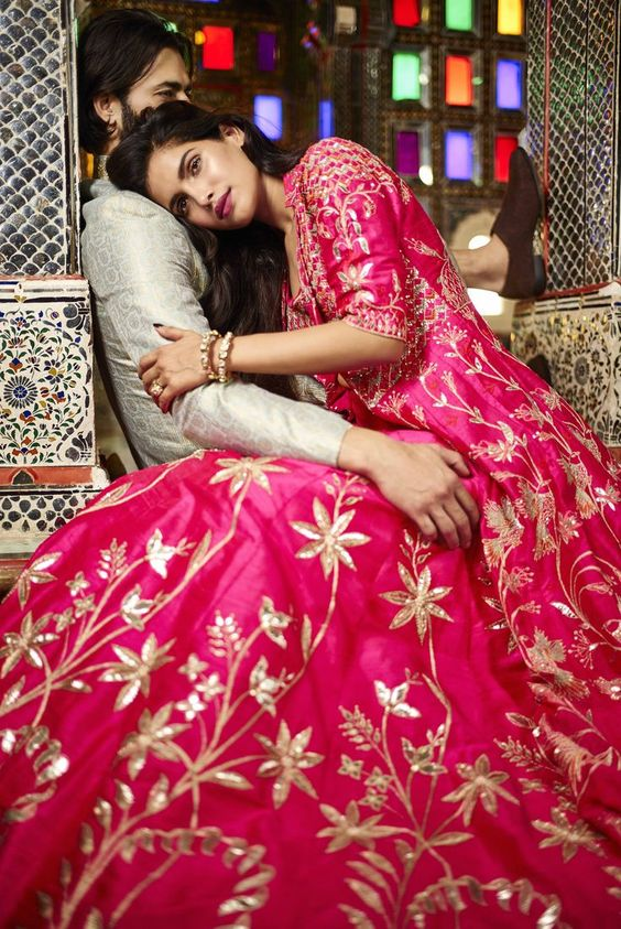 9 Bridal Wear Wedding Trends 2018 For Engagement Sangeet Reception