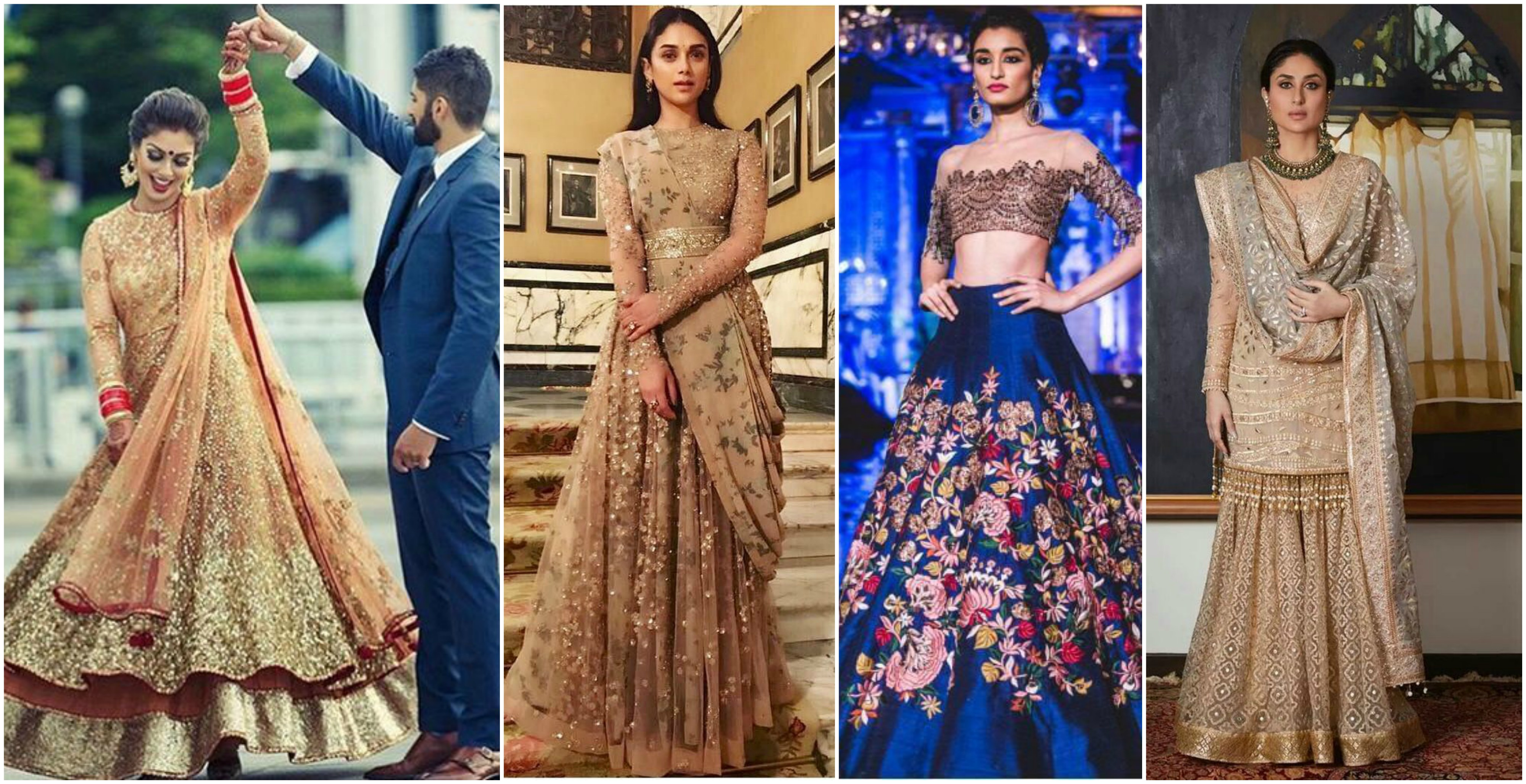 9+ Bridal Wear Wedding trends 2018 for Engagement, Sangeet