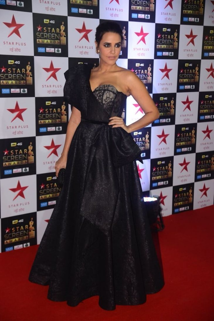 Neha Dhupia dressed in Gown, best dressed celebs in gowns, best celebrity gowns 2017
