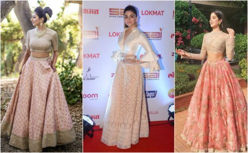 6 Styles Of Lehenga Choli Designs 2020 For Wedding Sangeet Reception