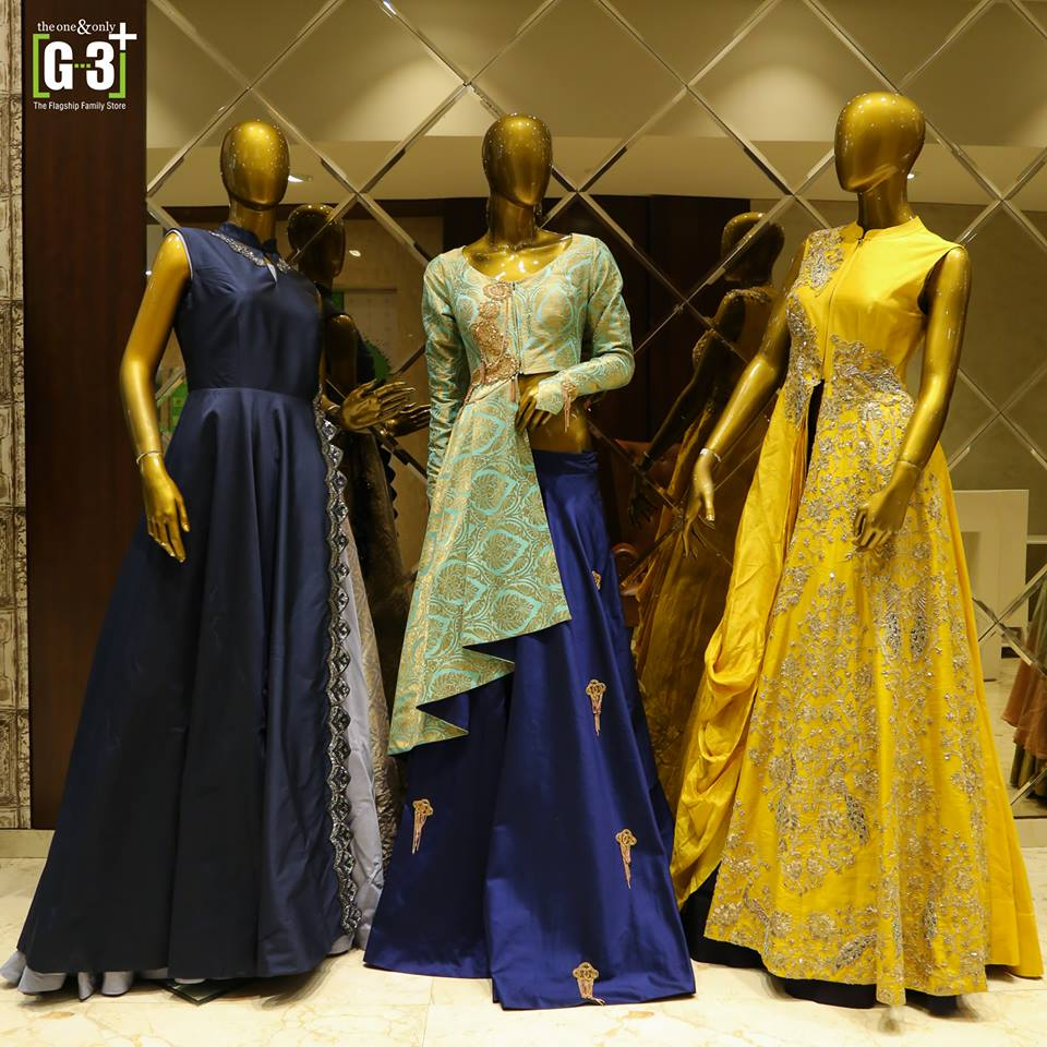 9248f6ae26 G3+ is the best lehenga shops in Surat to find bridal wear, where you can  sit here at the Lehenga Choli floor or VIP bridal room and also take a  special ...