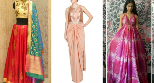 Convert Old Saree To Dress Or Gowns Diy Fashion G3 Fashion