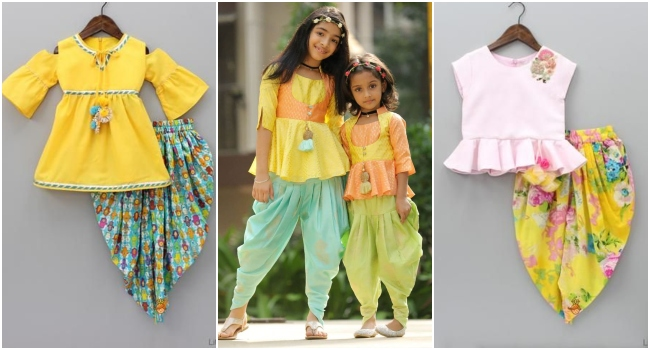 17d3f6b41 Kids Indian Fashion, Traditional Indian children clothing, indian wear for  girls, indian wear