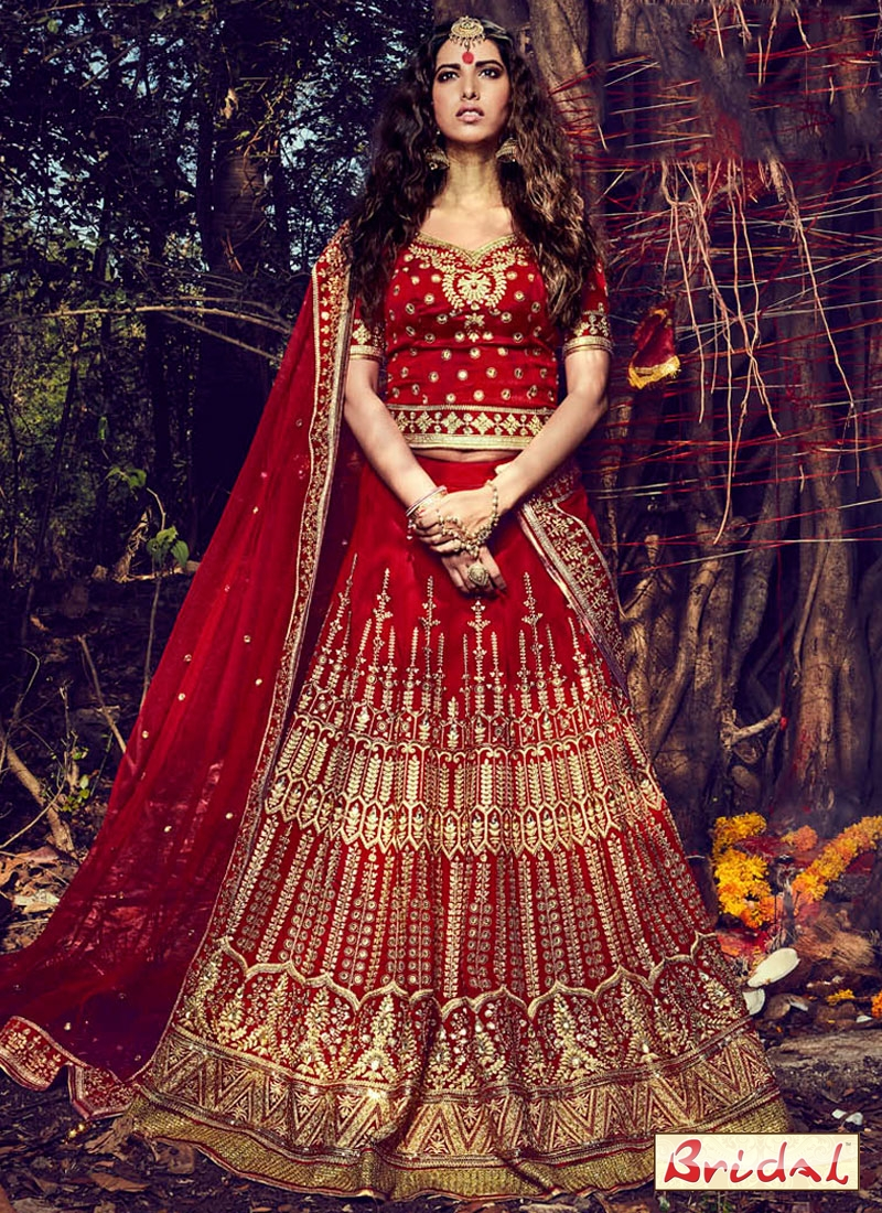 3501c84761 how to wear lehenga to lo look slim, 5 Useful Tips to Look Slim in