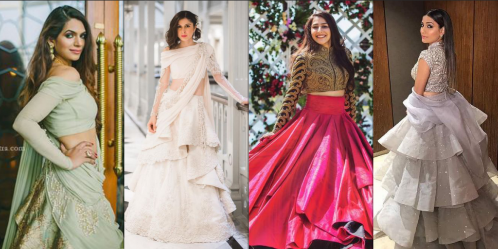 6 Latest Indian Wedding And Bridal Gown Designs 2018 G3 Fashion