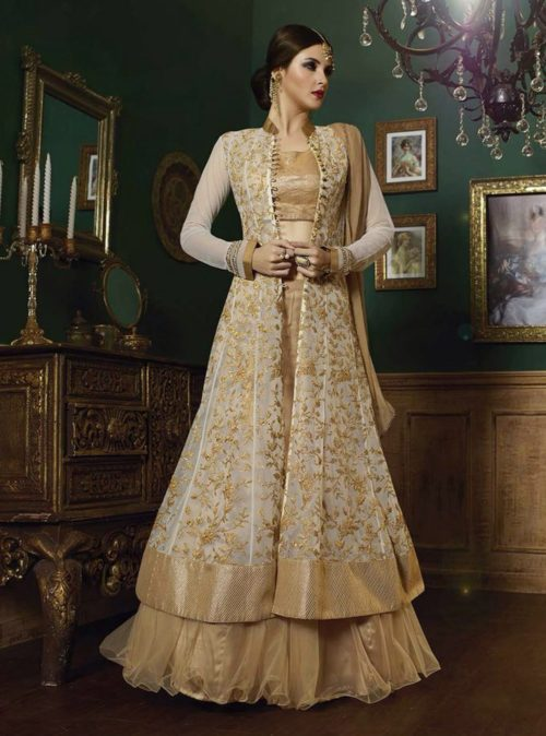 Top Trends Indo Western Lehenga Choli For Party Wear 2020