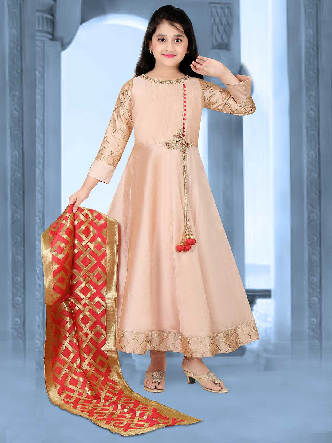 c6be62eb2c trends of girls salwar suit, latest kids salwar suit, designer little girls salwar  suit