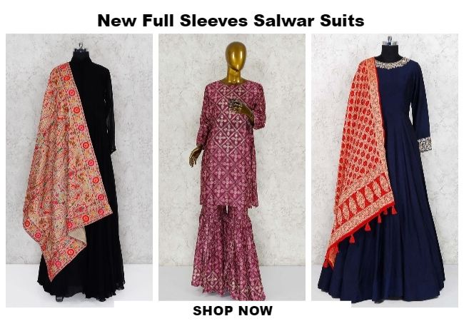 55 Unique Latest Salwar Suits Designs For Women In 2019