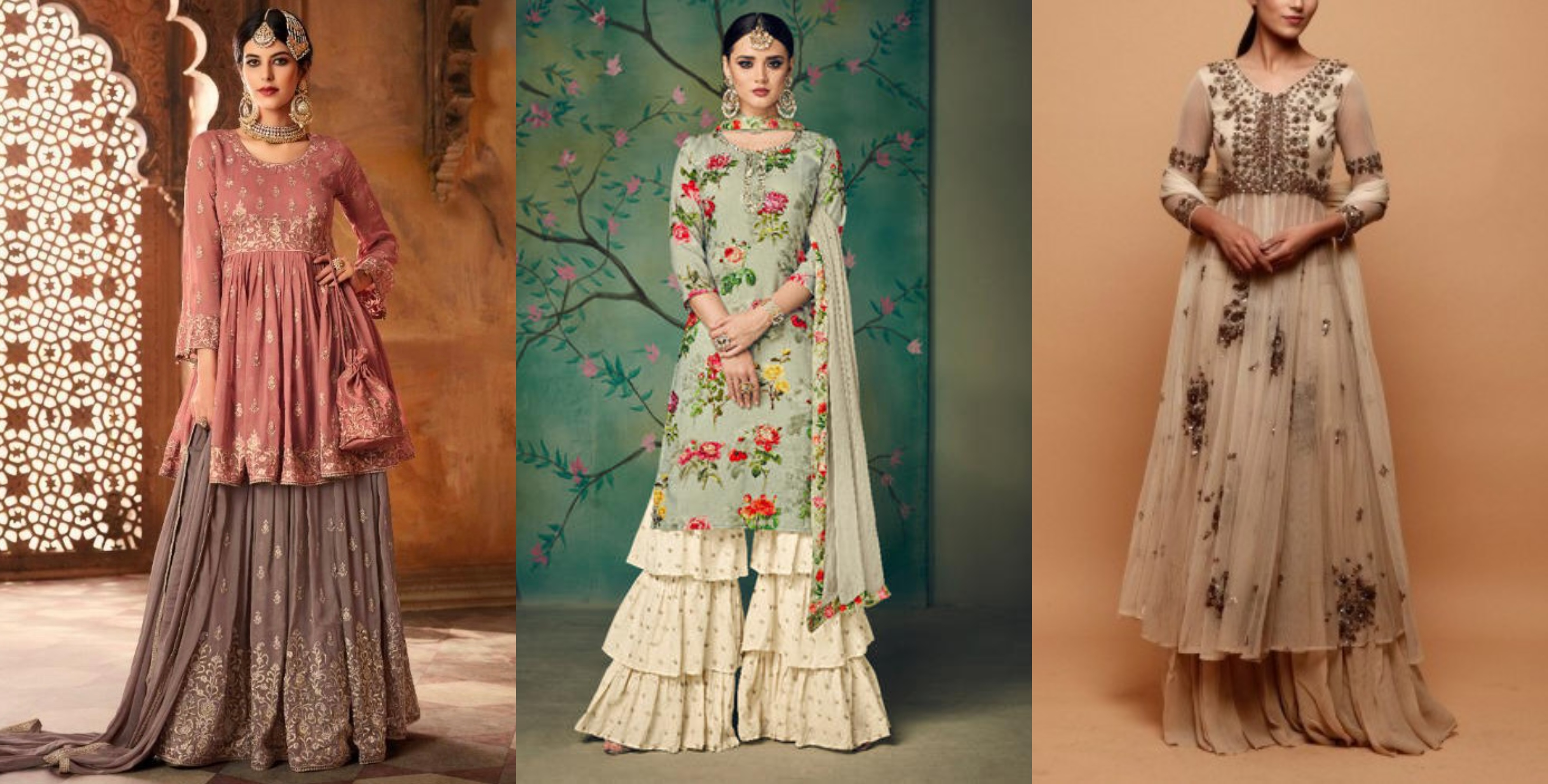 Sharara Suit Latest Style For Eid 2020 – G3+ Fashion