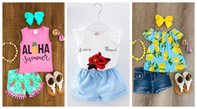 Kids Casual Fashion for Girls to Wear in Summers 2019 - Top