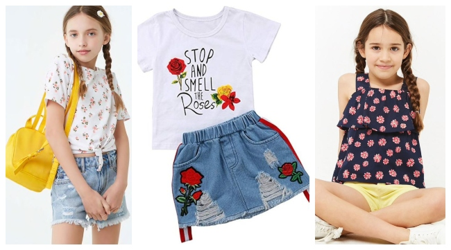 8e19454a4d3e girls kids wear fashion for summer, summer outfits ideas for girls, kids  outfits for