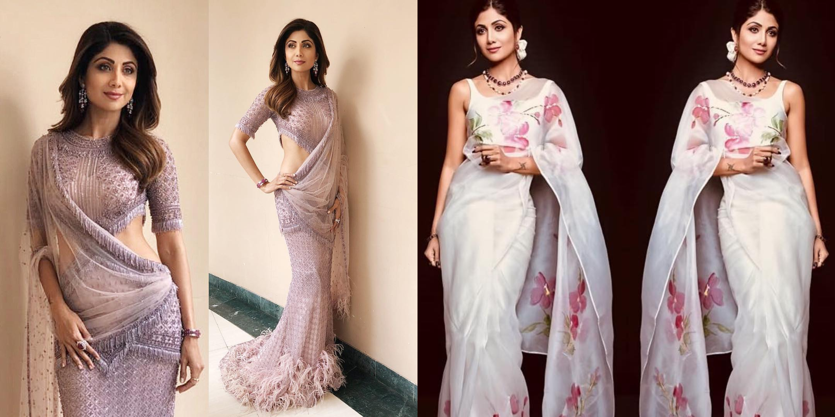 10 Shilpa Shetty Saree Style Inspiration You Can Try