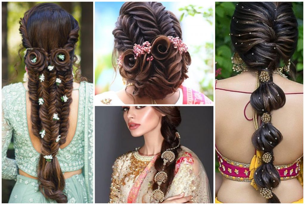 Indian Bridal Hair and Makeup Ideas for brides and