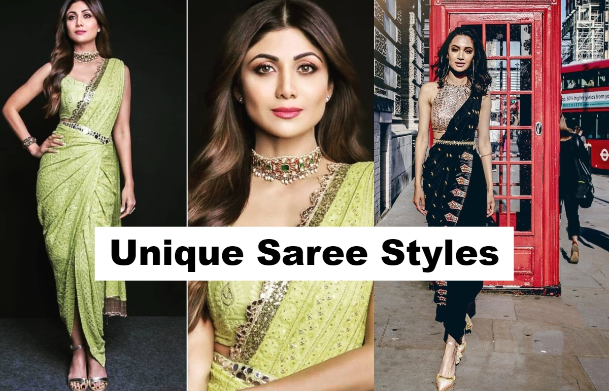 7 Unique Styles Of Saree Draping That Everyone Can Try G3 Fashion