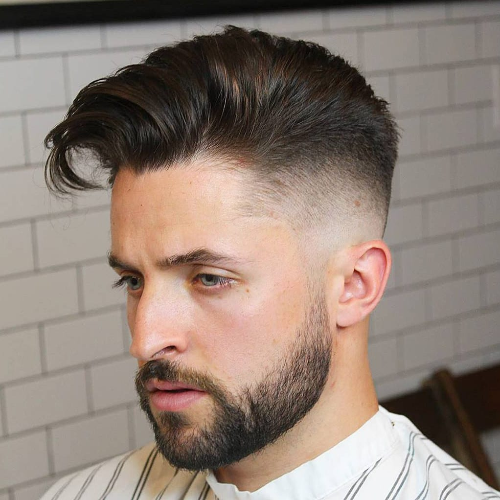 taper-fade hairstyle, hairstyles for men in 020