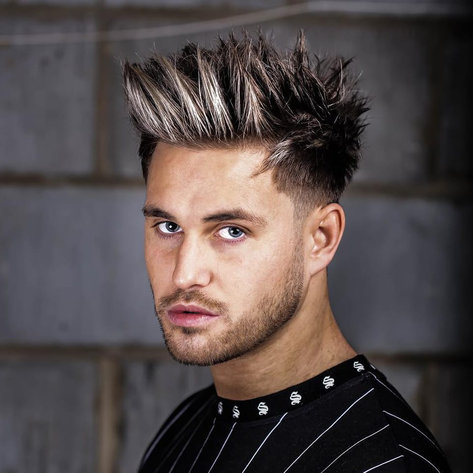 sharky hair cut for men