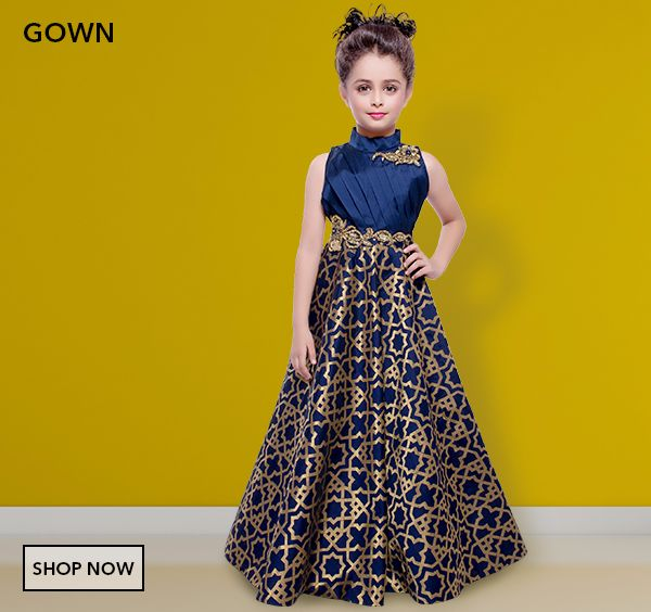 Shop Girls Choli Suit, Salwar Kameez, Gowns and Girls Western Wear ...
