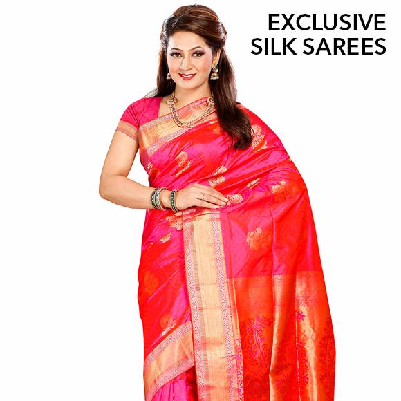 Exclusive Silk Sarees