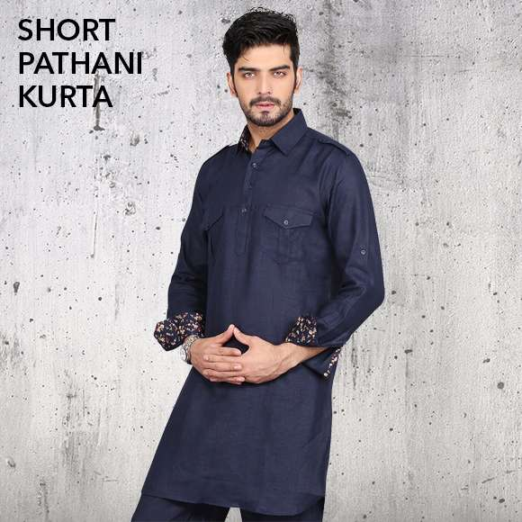 Short Pathani Kurta