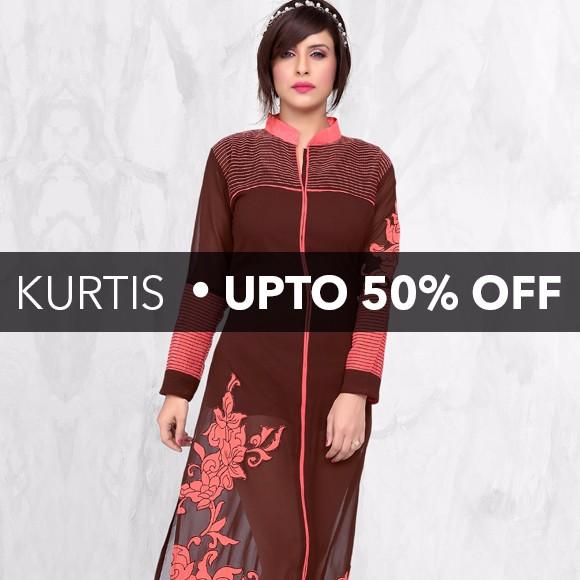 Kurtis - Upto 50% Off