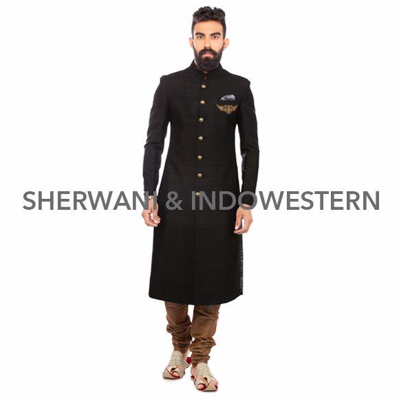 Sherwani & Indowestern