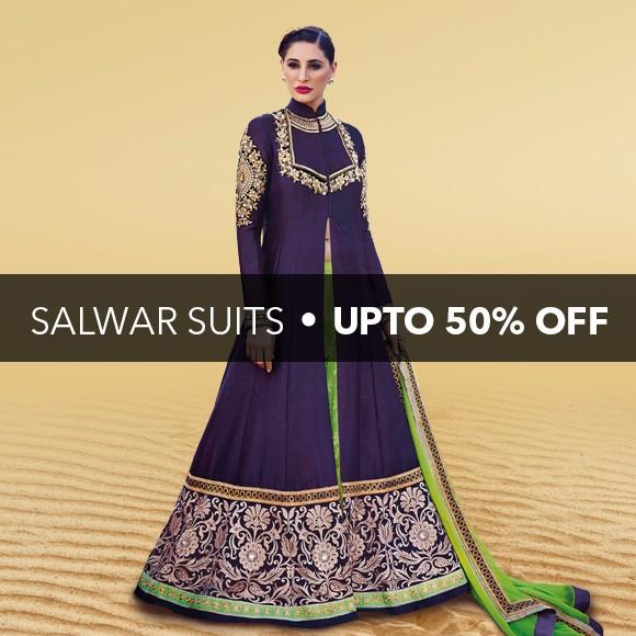 Salwar Kameez - Upto 15% Off