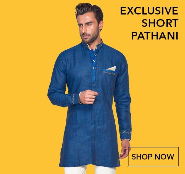 G3 Exclusive Short Pathani