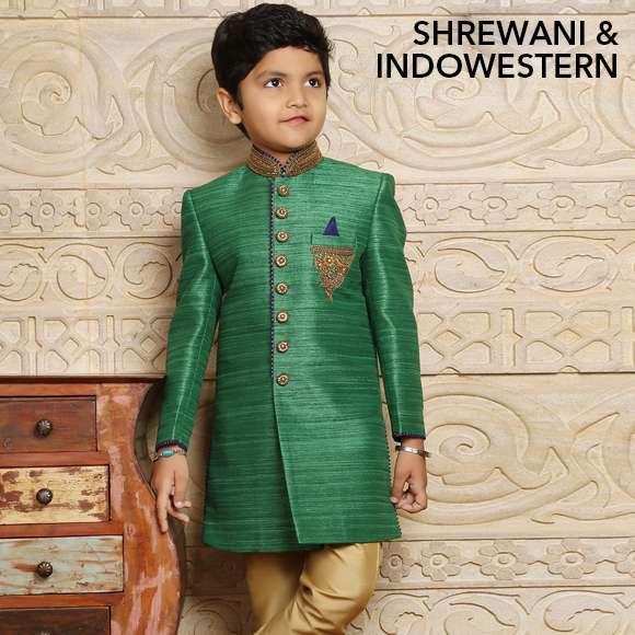 Boys Sherwani & Indowestern