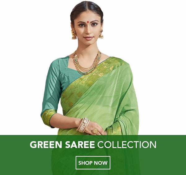 Green Color Sarees